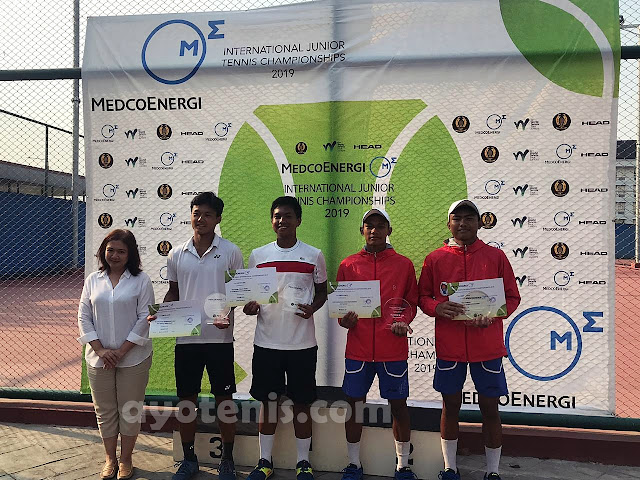 Medco International Junior Championships 2019: Gugun Juara !