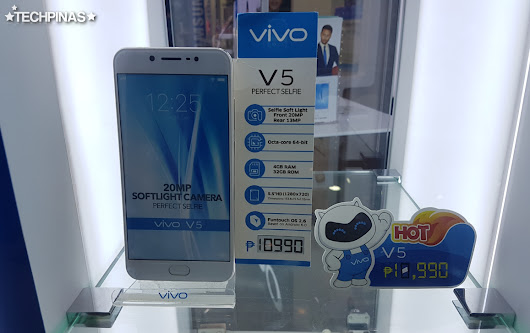 Vivo V5 Price in the Philippines is Now Just Php 10,990 : Here Are The Complete Specs
