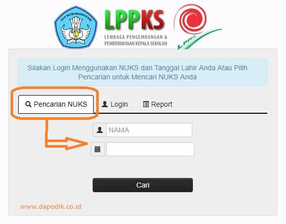 Login LPPKS - Cara Cek Online Nomor Unik Kepala Sekolah (NUKS) Terbaru