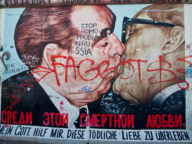 Brotherhood Kiss, East Side Gallery
