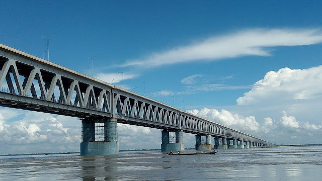 5 Amazing Facts About Bogibeel Bridge, India`s Longest Railroad Bridge!