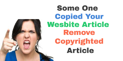 DMCA Complain Fill Up For Website