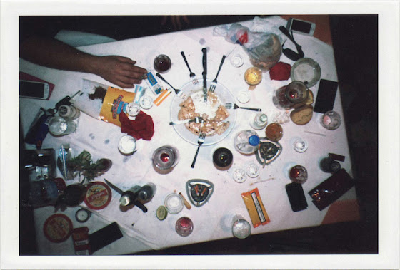 dirty photos - fumus - a photo of table and food