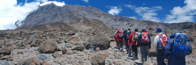 Mount Kilimanjaro is Africa's highest Mountain