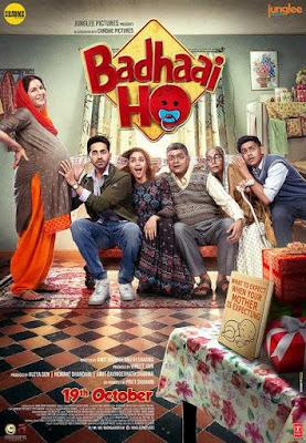 Badhaai Ho (2018) 480p 720p [1CD] HQ Pre-DvD x264 AAC Download Gdrive