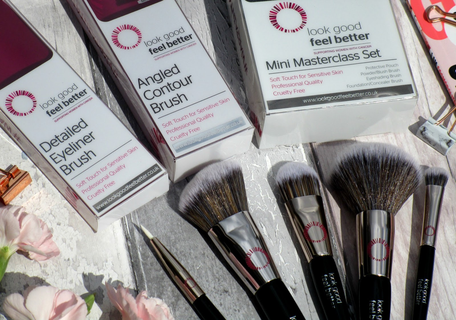 Look Good Feel Better Makeup Brushes Review