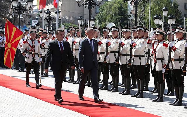 Non-paper για Αλβανία και Σκόπια