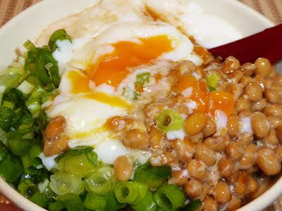 納豆+長芋とろろかけ麦ごはんが激ウマです!