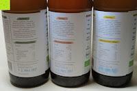 Zutaten und Nährwerte: fariment - 3 Liter Original Bio Kombucha Tee Getränk natürlich fermentiert und nicht pasteurisiert / Rohkost (3er Mix)