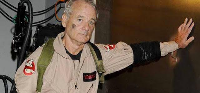 """Bill Murray confirmado em """"Caça-Fantasmas: Mais Além"""""""