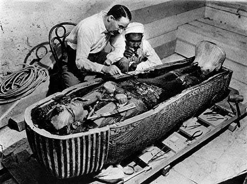 Image: King Tut's sarcophagus
