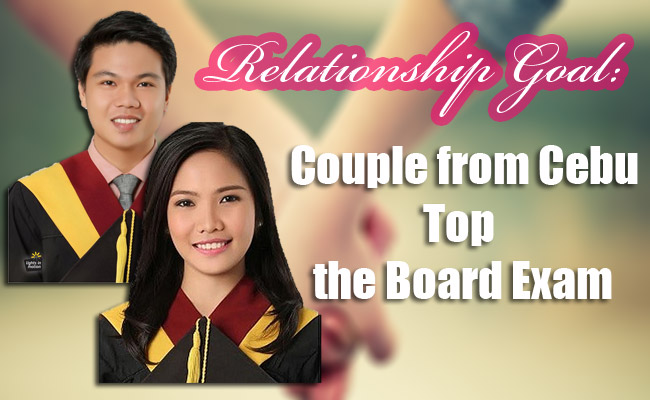 Relationship Goal: Couple from Cebu Top the Board Exam