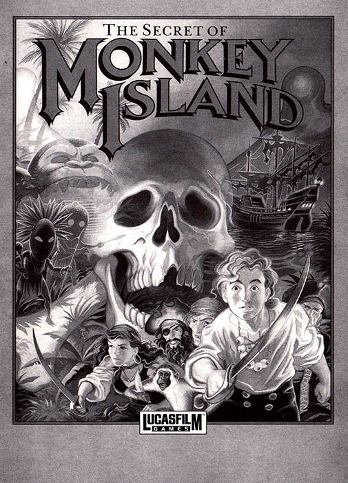 The Secret of Monkey Island Manual