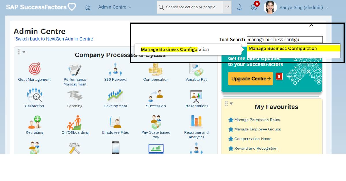 Raghav SAP HR/HCM / SuccessFactors: Manage Business ...