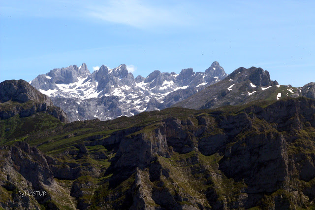 European Peaks National Park in AsturiasSpain