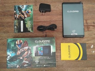 Cloudfone Cloudpad Epic 7.1 Retail Package