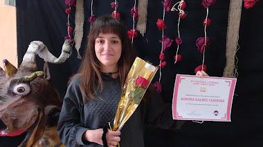 Finalista Batxiller: Aurora Galmés Taberner (2n Batx A)