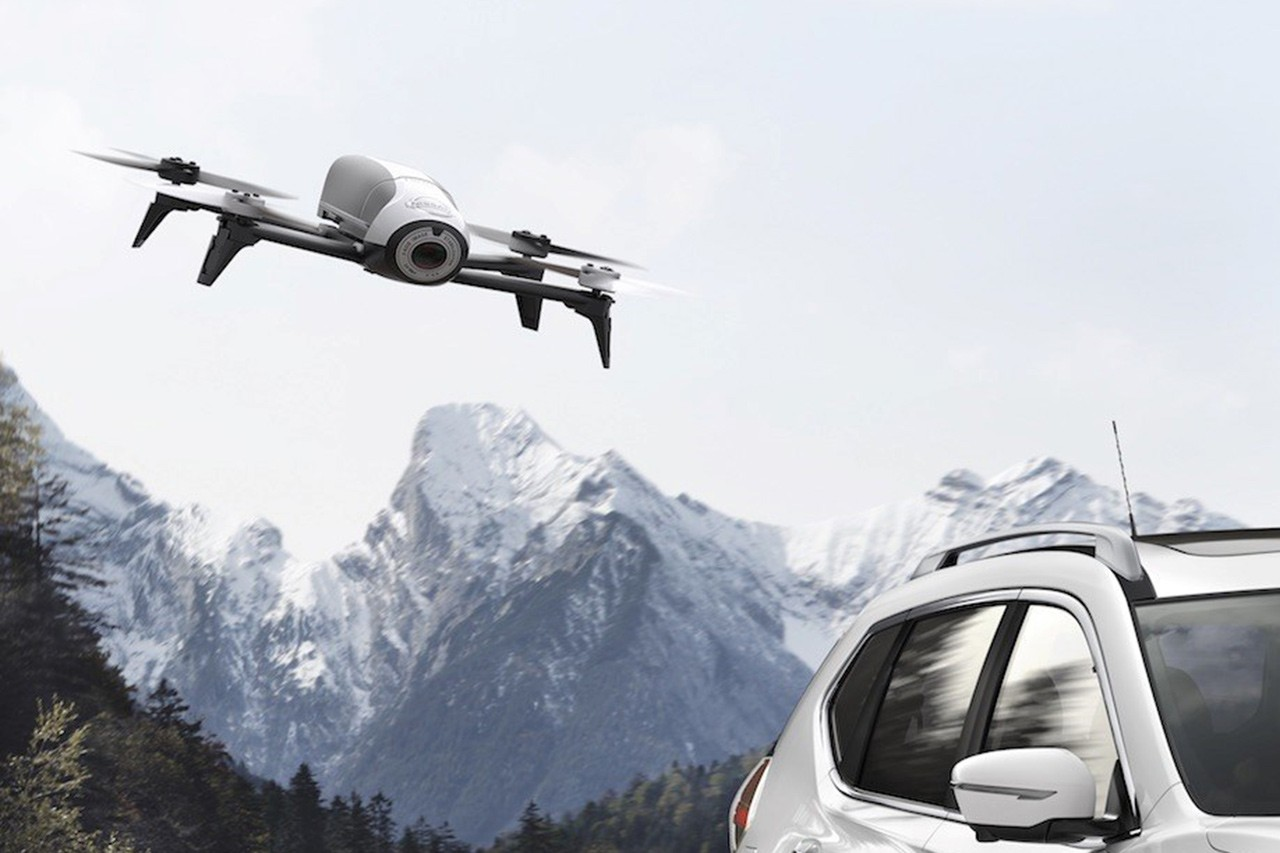 Nissan X-Trail X-Scape drone
