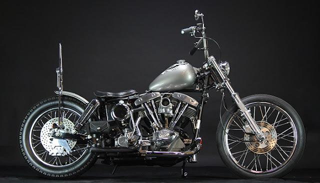 Harley Davidson Shovelhead By Gleaming Works Hell Kustom