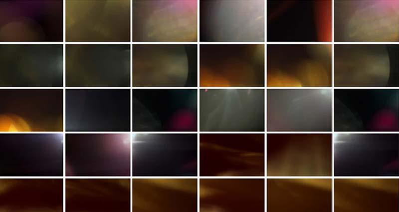 Film Light Leaks Effects Overlays