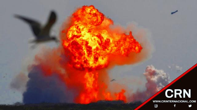 Los restos del cohete chino se desintegran