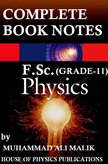 F Sc  PHYSICS (1ST YEAR), COMPLETE PHYSICS NOTES (THEORY+