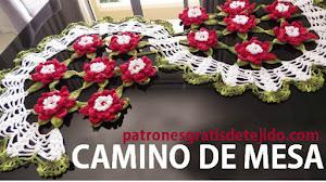 Aprende a tejer un camino de mesa floral al crochet / Tutorial