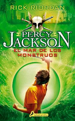 Percy Jackson y el mar de los monstruos 2, Rick Riordan