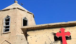 ما تبقي من كنائس في العراق بعد تدميرها على يد تنظيم داعش