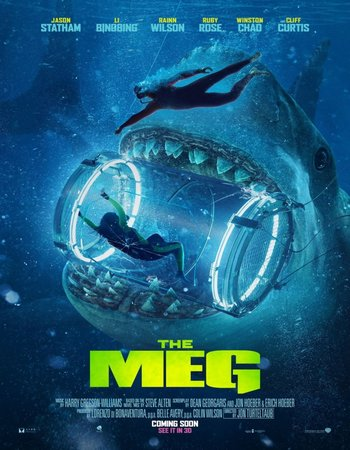 The Meg (2018) Dual Audio Dual Audio 300MB