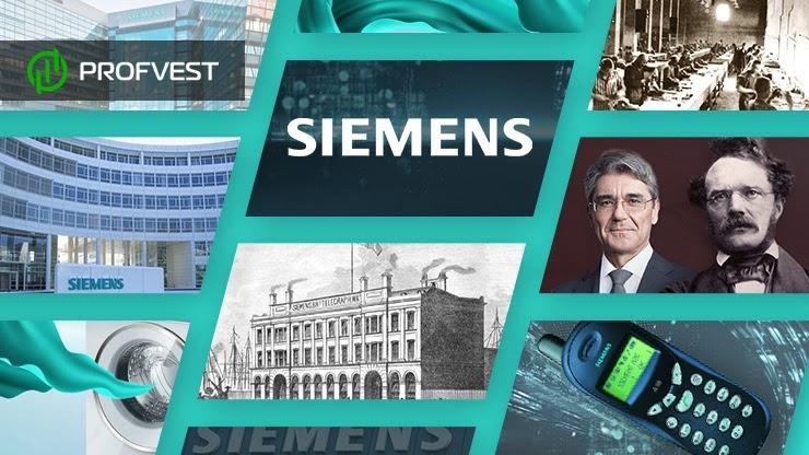 Компания Siemens история развития бренда