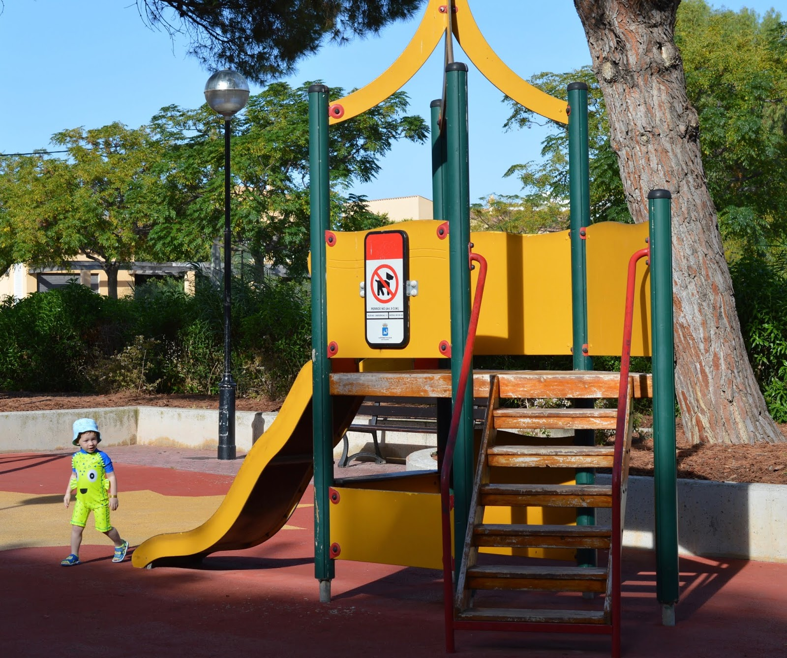Pirates Village Santa Ponsa | Jet 2 Holidays Review  - playground with slide near hotel