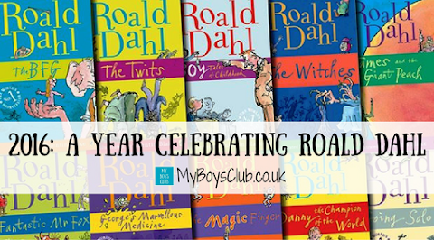 2016: A Year Celebrating Roald Dahl