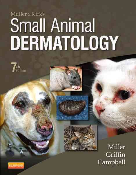 Muller and Kirk's Small Animal Dermatology  - WWW.VETBOOKSTORE.COM