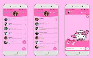 Hello kitty Theme For YOWhatsApp & Fouad WhatsApp By Leidiane