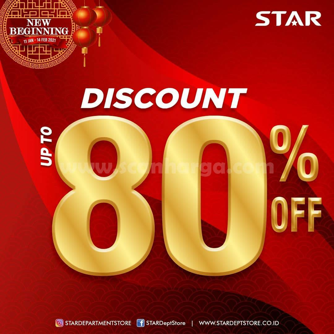 STAR Department Store Promo Disc. Up To 80% Off