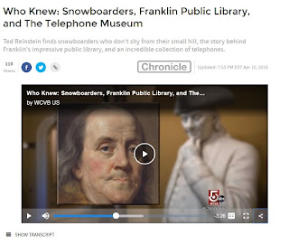 ICYMI: WCVB - Chronicle item on the Franklin Library