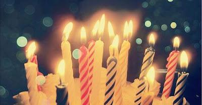 Espelmes d'aniversari