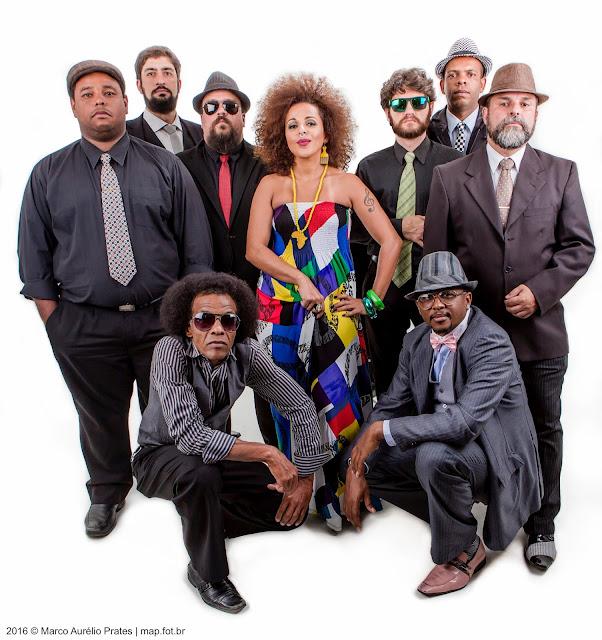 Xampu  - Cromossomo Africano faz show de lançamento do videoclipe de uma das faixas do próximo álbum – sexta-feira, 8 de junho, n'A Autêntica