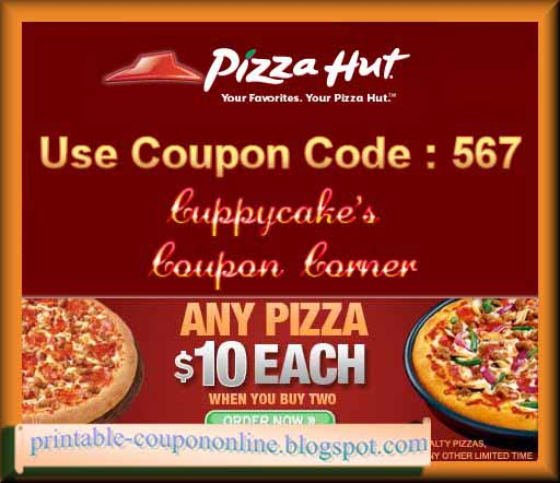 Pizza hut printable coupons december 2018