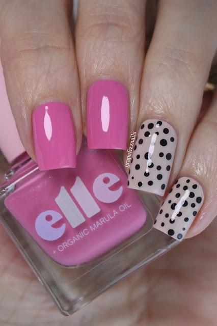 Elle Polish Valentine's Polka Dots