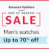 Amazon Offers Men's Watches up to 70% off