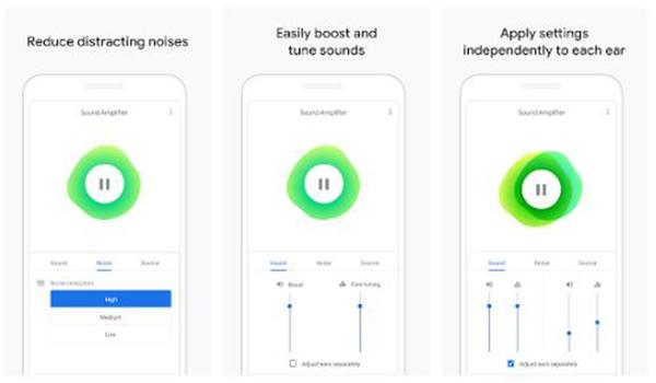 تطبيقات من جوجل لمساعدة الاشخاص ضعاف السمع | بحرية درويد