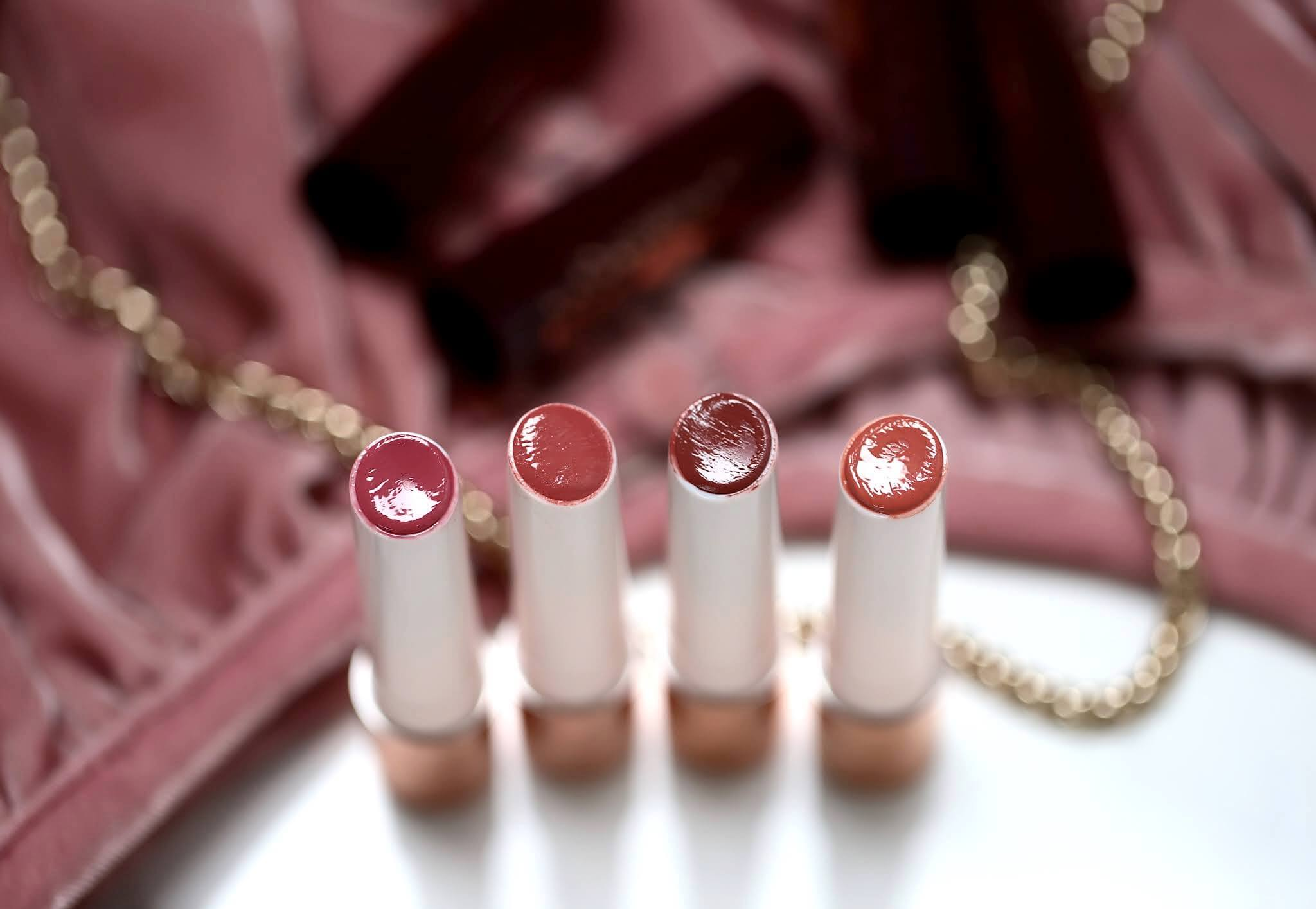Charlotte Tilbury Hyaluronic Happykiss Happilove Happipetal PassionKiss Happipeach