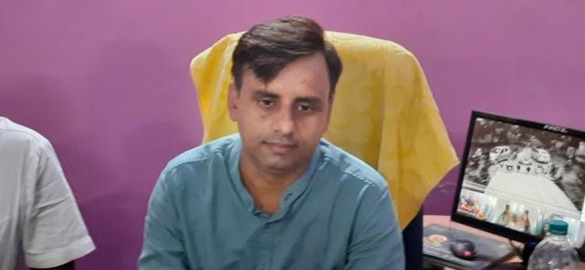 B.D.O रवि रंजन ने लिया पदभार, कहा,योजनाओं को लोगों तक पहुँचाना ही लक्ष्य