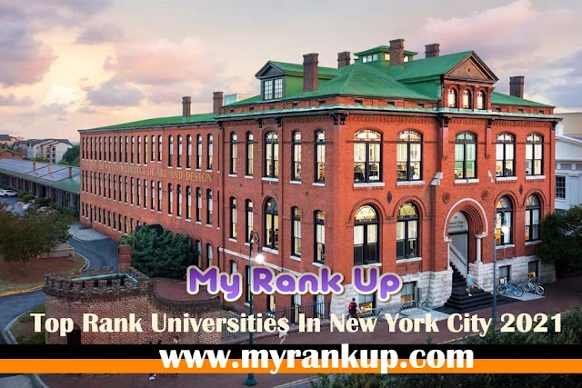 Top Rank Universities In New York City 2021