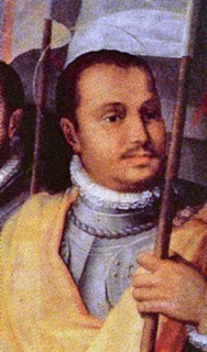 The only known painting of Paolo Giordano Orsini, Isabella's husband