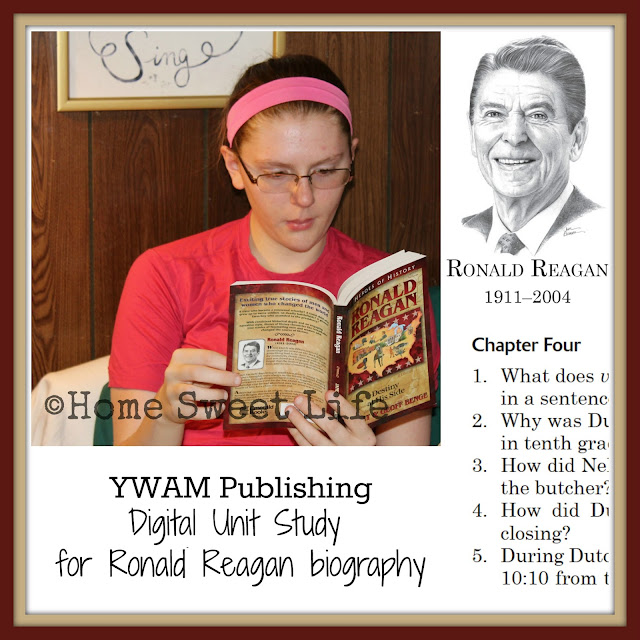 YWAM, Ronald Reagan, Digital Unit Study