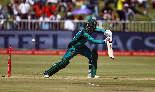 Mohammad Hafeez of Pakistan during the Momentum ODI match between South Africa and Pakistan at Kingsmead Cricket Ground, on January 22, 2019 in Durban, South Africa. (Photo by Steve Haag/Getty Images)