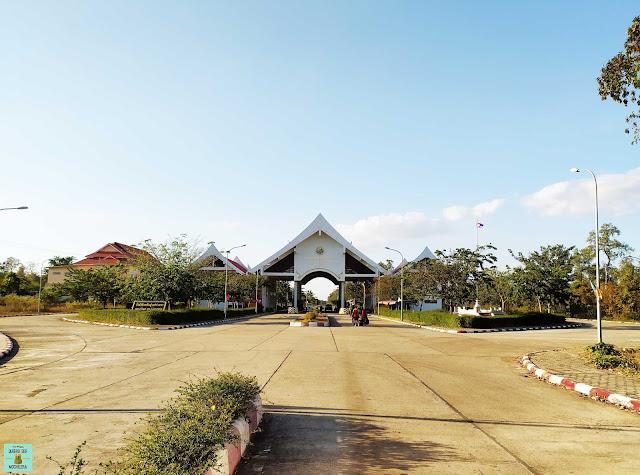 Frontera de Laos